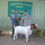Overall Grand Champion Buck at Hart of Kentucky...